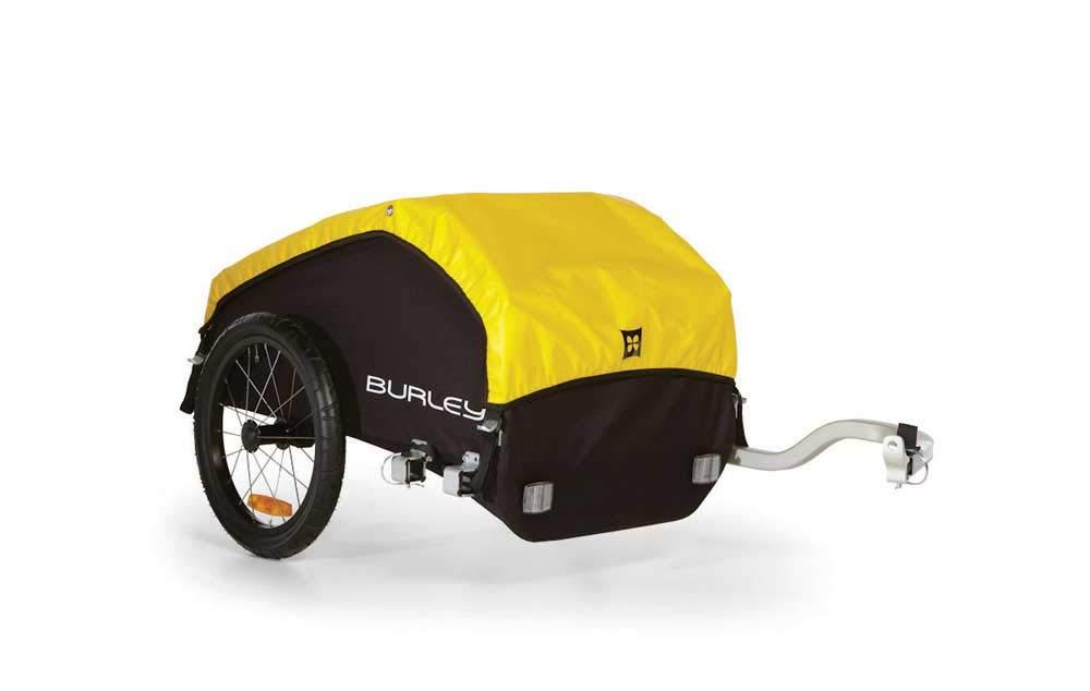 Burley Design Nomad Bike Trailer, Yellow/Black, One Size