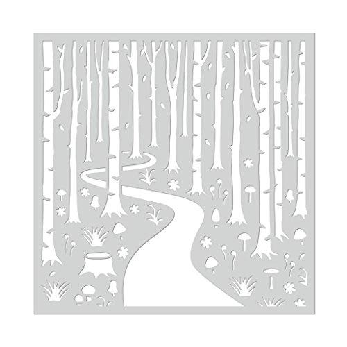 Hero Arts SA112 Stencil, Into The Woods, 6