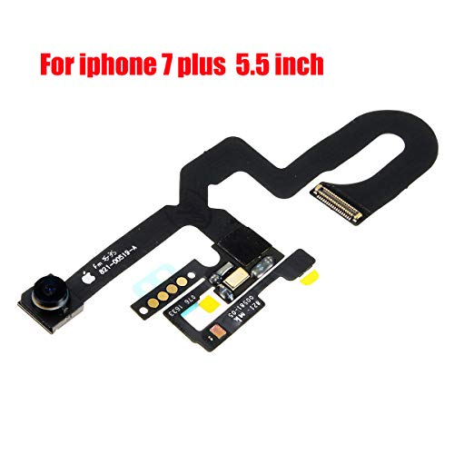 Afeax Compatible with iPhone Face Front Camera Flex Cable with Sensor Proximity Light and Microphone Flex Cable Replacement for iPhone 7 Plus 5.5inch