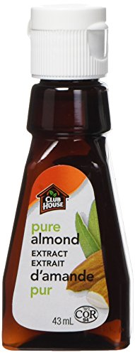 Club House, Quality Baking & Flavouring Extracts, Pure Almond, 43ml