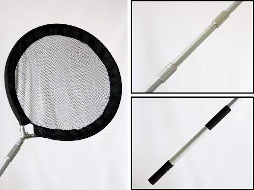 Koi Net with 30 Inch (80cm) Diameter Pan & 96 Inch (2.4m) Handle by Pond H2o