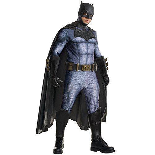 Rubie's Costume Men's Batman v Superman: Dawn of Justice Grand Heritage Batman Costume, Multi, X-Large