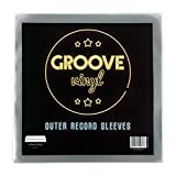 """50 Vinyl Outer Record Sleeves 