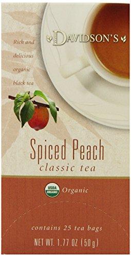 (Davidson's Tea Spiced Peach, 25-Count Tea Bags (Pack of 6))