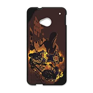 Printed Quotes Phone Case Rossi For HTC One M7 Q5A2112285