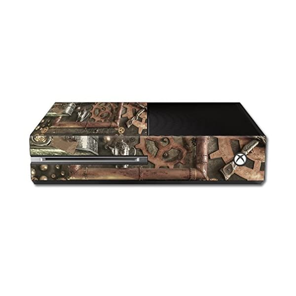 MightySkins Skin Compatible with Microsoft Xbox One - Steam Punk Room | Protective, Durable, and Unique Vinyl Decal wrap… 3
