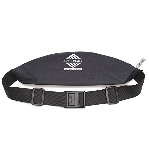 Aqua Quest KONA Black Waist Pack Belt for Running, Travel, Sports, Outdoors for Men, Women, - Kids Kona