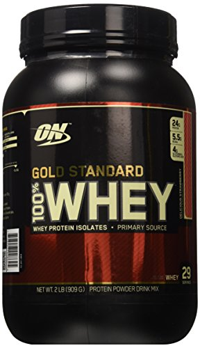 Optimum Nutrition Gold Standard 100% Whey Delicious Strawber