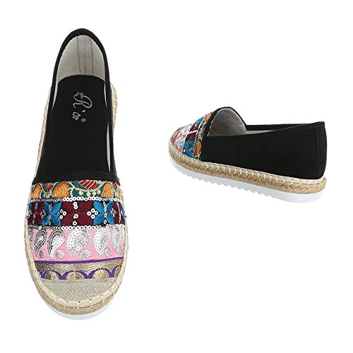 Schwarz lT Chaussures 53 BL sandales Multi 6508 7q0Tgxv