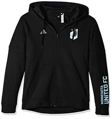 adidas Adult Men Armed Team Issue Full Zip Hood, Black, Medium