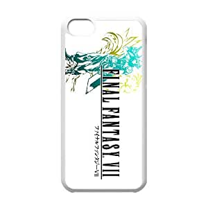 Final Fantasy Vii2 Iphone 5C Cell Phone Case White JN773357