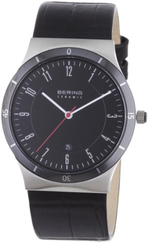 Bering Time Men'S Slim Watch 32239-442 Ceramic