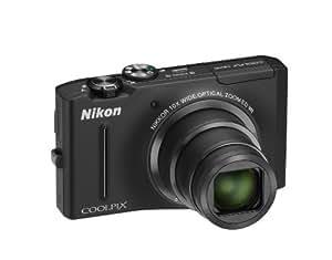 Nikon Coolpix S8100 - Cámara Digital Compacta, 12.1 MP (3 pulgadas, 10x Zoom óptico)