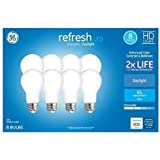 GE Refresh 60-Watt EQ A19 Daylight Dimmable LED Light Bulb (8-Pack)