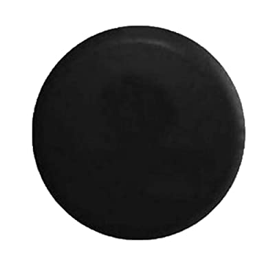 "Comily Plus+ 13 Inch Universal PVC Spare Tire Wheel Cover Waterproof Dustproof Protector-Plain Black(13"" for Diameter 22""-23""): Automotive"