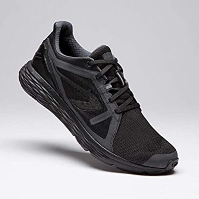 Kalenji - Zapatillas de Running de Caucho para Hombre, Color Negro ...
