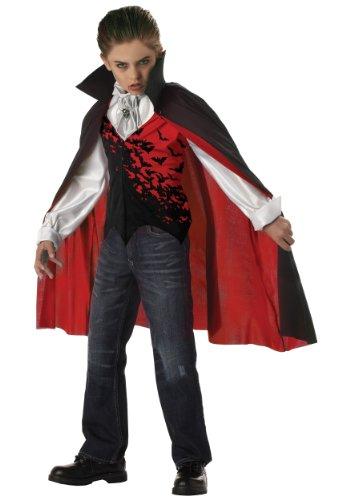 Boys Vampire Costume (California Costumes Toys Prince of Darkness,)