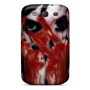 Tpu Case Cover Compatible For Galaxy S3/ Hot Case/ Scary