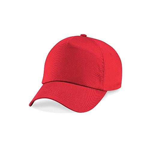 Beechfield - Gorro - Básico - para niño Red - Bright Red