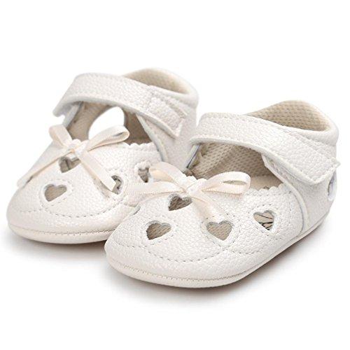 Igemy 1Paar Baby Mädchen Höhle aus Sandalen Schuh Casual Schuhe Sneaker Anti-Rutsch Soft Sole Kleinkind Beige
