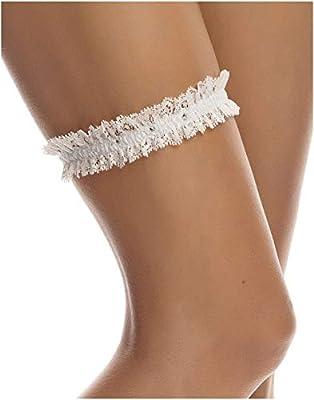 SLIM Bridal Wedding Lace Garter – Elegant Garter - Must Have for Brides – IVORY