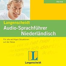 Langenscheidt Audio-Sprachführer Niederländisch Hörbuch von  div. Gesprochen von:  div.