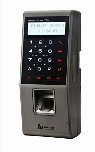 Nitgen Fingkey Access Plus Sw101-m+ Biometric Fingerprint Access Control Attendance Standard(fingerprint, Password)+ High Frequency Card Mifare 13.56mhz by Nitgen