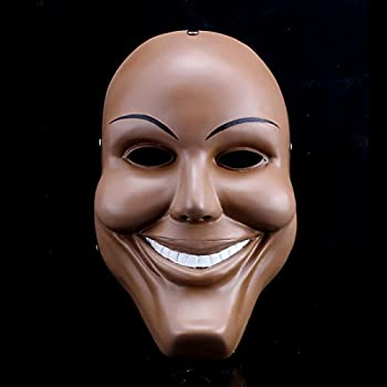 men resin scary smile face halloween mask the purge anarchy movie costume dress - Purge Anarchy Masks For Halloween
