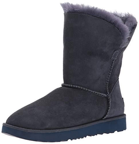 UGG Women's Classic Cuff Short Winter Boot, Imperial, 9.5 M US
