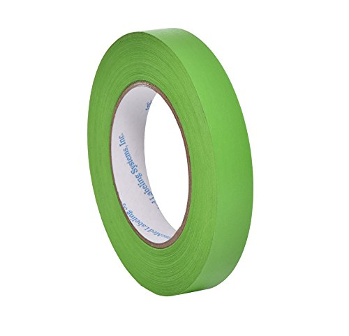 "Camlab 1151366 Labelling Tape, 3/4"" Wide, 2160"" (55 m) Long, Green"