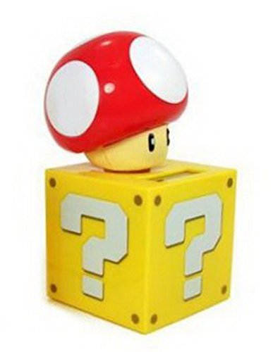 Super Mario Bros. Kinoko Mushroom Solar Figure (Super Mario Bros Mushroom)