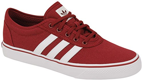 Adidas Originals Baskets Adi-sneaker Pour Hommes Mode Collégiale Bourgogne / Chaussures Blanches / Collégiales Bourgogne