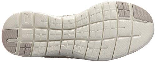 Skechers Frauen Flex Appeal 2.0 First Impression Sneaker Taupe