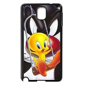 Caso Piolín 037 Samsung Galaxy Note 3 cubierta de la caja del teléfono celular Negro Cubierta EVAXLKNBC06030