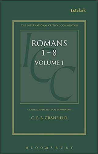 A critical and exegetical commentary on the epistle to the romans a critical and exegetical commentary on the epistle to the romans introduction and commentary on romans i viii vol 1 intl critical commentary c e b sciox Gallery