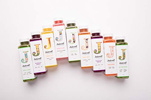 7-Day Cold-Pressed Juiced! Cleanse