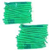 DEFEND DISPOSABLE SURGICAL ASPIRATOR TIPS #ST-1023 GREEN 50PCS/2BAGS 1/4'' DIAMETER