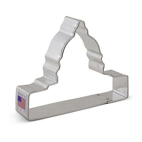 Capitol Building Monument Cookie Cutter - Ann Clark - 4 - Inches - Ann Clark - US Tin Plated Steel