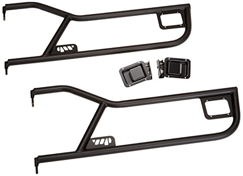Warrior Products 90771 Tube Doors with Paddle Handle for Jeep YJ 86-96