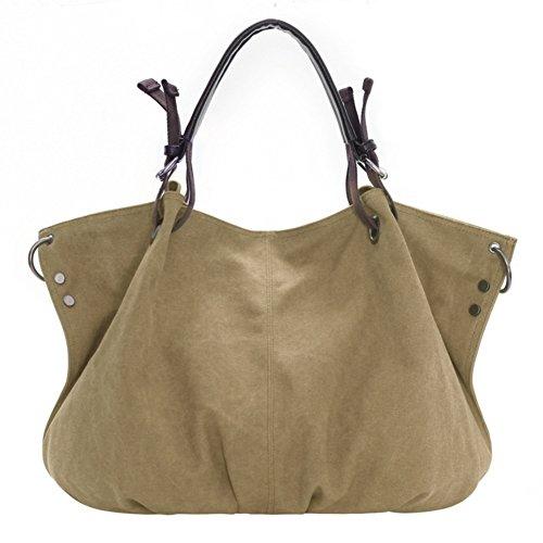HIFISH HB110006C5 Canvas Leisure Handbag,Dumplings Type Dumplings