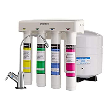 Image of AmazonBasics 4-Stage Reverse Osmosis Home Drinking Water System Home Improvements