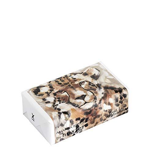 Huxter Luxury Bar Soap - Chimanga, Leopard - Basil, Lime & Mandarin