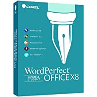 Corel WordPerfect Office X8 Home & Student Edition for PC