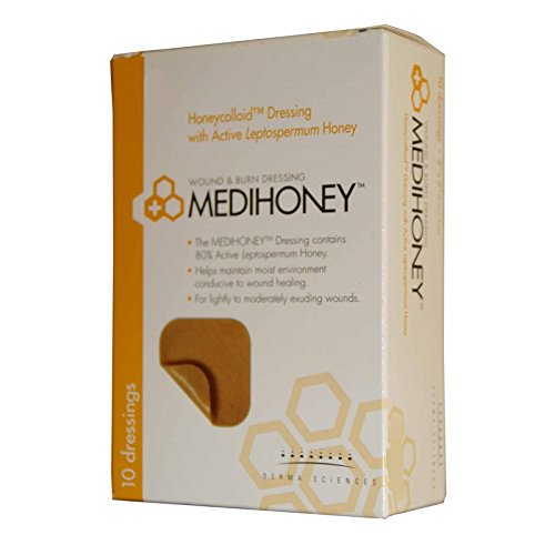 DERMA SCIENCES, INC 31245 Medihoney Honeycolloid Dressing...