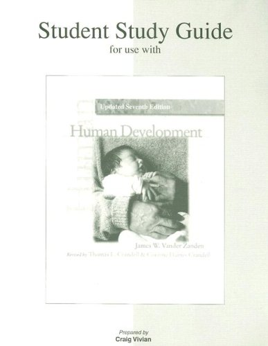 Student Study Guide t/a Human Development Updated 7e