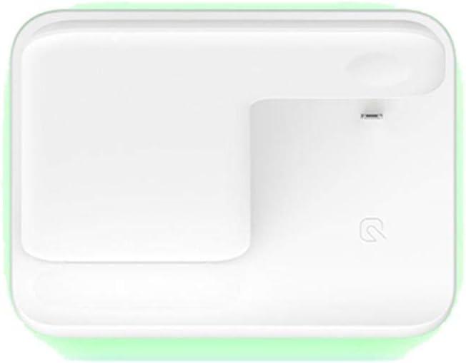 Elementral - Cargador inalámbrico Inteligente 15 W 3 en 1 para Auriculares iOS, Base de Carga inalámbrica Qi