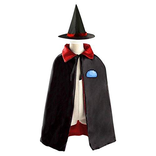 Pixel Stone Children's Halloween cape Including (All Halloween Costumes Terraria)