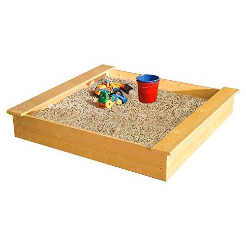 Sandkasten 120x120cm Madita Sandkiste Holzkiste