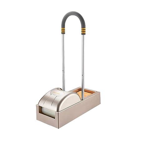 Dispensador Cubierta Zapatos Automático HF0045 con Membrana De Calzado Médico Casa Tienda Oficina,Gold