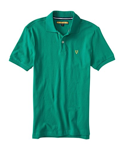 Aeropostale Men's A87 Ny Solid Stretch Pique Polo XSmall (Solid Stretch Pique Polo)